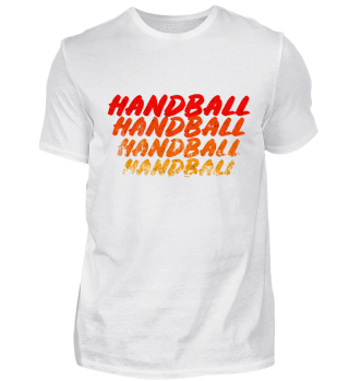 Handball Sports Shirt Gift idea