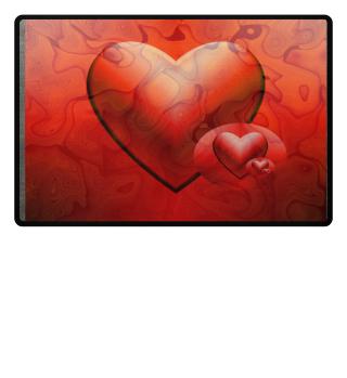 Heart Fußmatte
