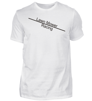Lawn Mower Racing line - black