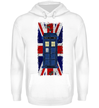 United Kingdom Flag Police Box 3