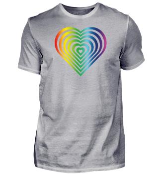 LGBT LOVE Heart Hearts Gay Lesbian Pride