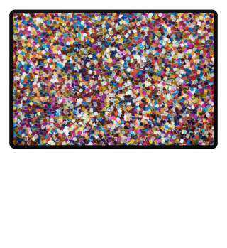 Mosaic or Confetti Doormat Welcoome Mat