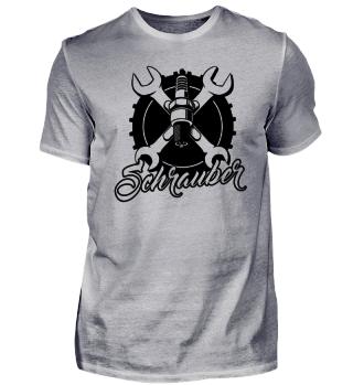 T-Shirt für Auto- und Motoradschrauber