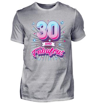 30 and fabulous Diamanten