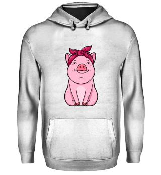 Landwirtschaft · pinkes Schwein