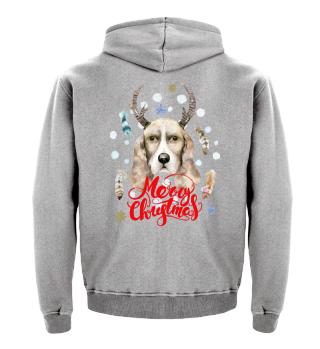 ☛ Merry Christmas · Boho Dog · Hund #3A
