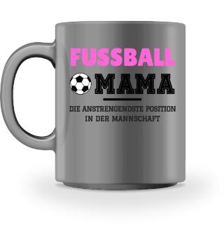 Fußball Mama Frauen Tasse