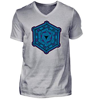 Mandala - Cube - geometry - yoga - gift