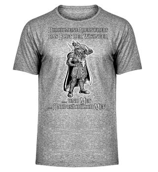 Blut der Wikinger ... und Met - Viking Odin Motiv