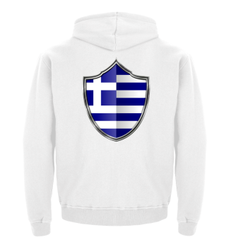 Griechenland-Greece Wappen Flagge 015