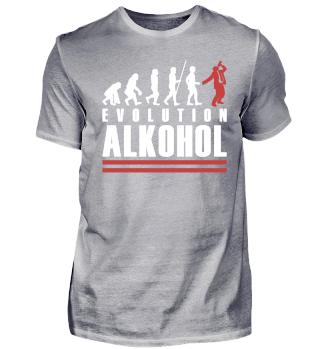 Evolution des Alkohols