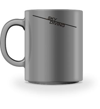 Sky Diving line - black
