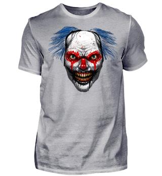Crazy Clown Horror Shirt