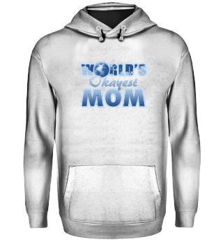 world´s okayest mom gift
