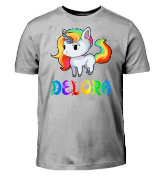 Delora Unicorn Kids T-Shirt