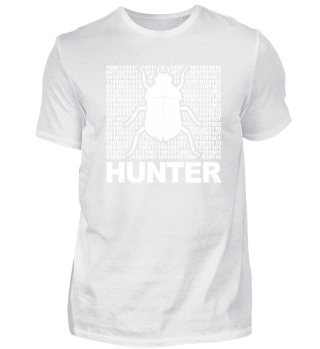 CODER GEEK T-SHIRT BUG HUNTER