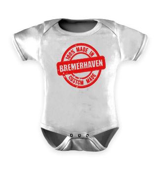 100% Made in Bremerhaven Babybody