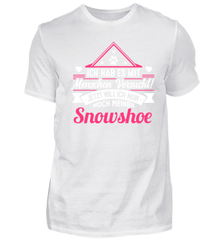 SNOWSHOE - der Versuch