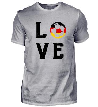 LOVE Deutschland Fussball