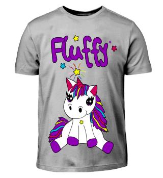 Einhorn Fluffy Unicorn Geschenk Geschenkidee für Kinder und Erwachse