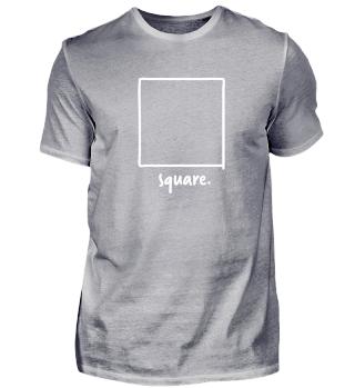 gezeichnetes Quadrat