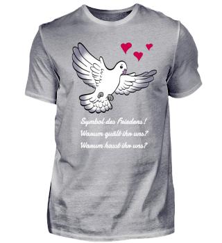 Taube Symbol des Friedens
