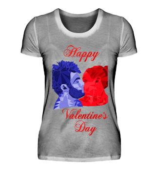 Valentinstags Kuss