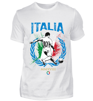 ITALIEN FAN-SHIRT Nationalfarben Fußball