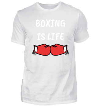 Boxing is lift boxer passion love boxer