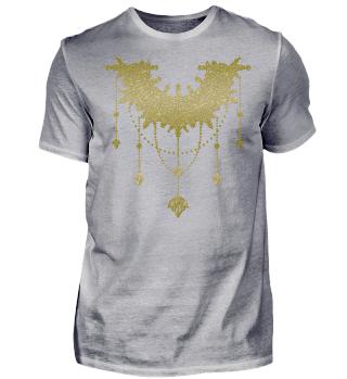 Dotwork Tattoo Mandala 4 - gold