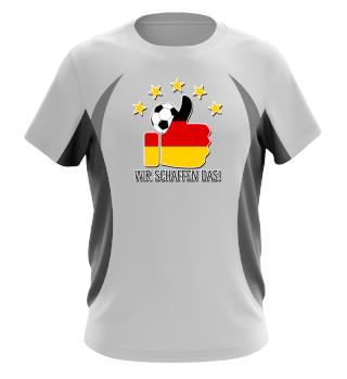 ★ Fussball 5 Sterne - Wir Schaffen Das 2