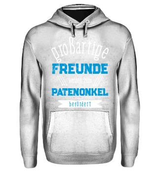Freunde Zum Patenonkel befördert T-Shirt