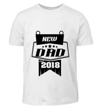 GIFT- NEW FAMILY DAD 2018 BLACK