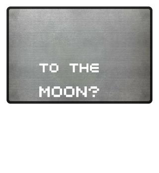 'To the Moon Slogan' Shirt II