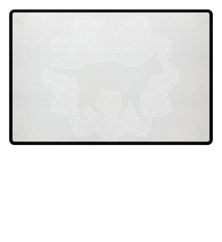 ♥ Vintage Mandala I Cat I - weiss