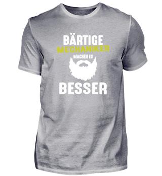 Mechaniker Bart Beard Geschenk