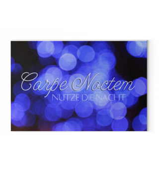 ★ Carpe Noctem - Blau ★ LW