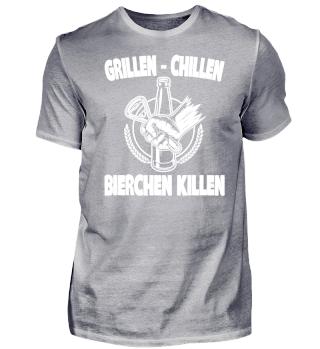 GRILLEN - CHILLEN - BIERCHEN KILLEN