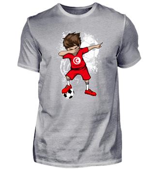 Tunisia Soccer Boy Dab