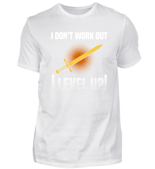 I don't work out. I level up! Gaming