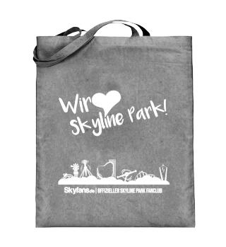 Wir lieben Skyline Park - Jutetasche
