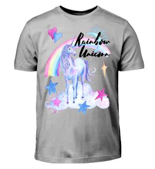★ Rainbow Unicorn · Regenbogen Einhorn ★