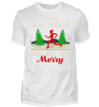 May All Your Miles Be Merry Running Gift