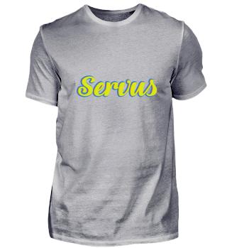 Servus T-Shirt Geschenkidee