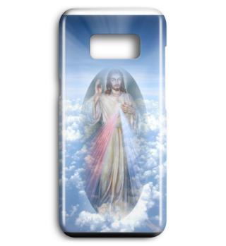 Jesus Christus Blessing Wolken Heaven Smartphone Case