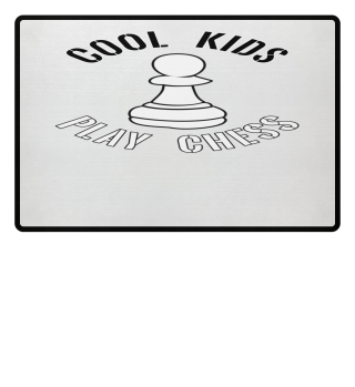 Cool Kids Play Chess Pawn Piece
