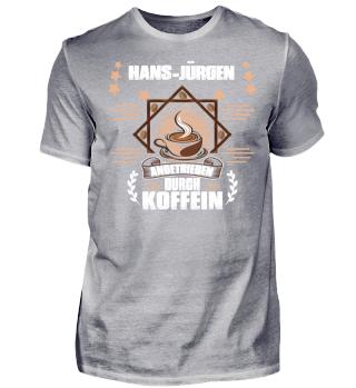 Hans Jürgen angetrieben durch Koffein