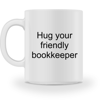 Hug your bookkeeper - Gift