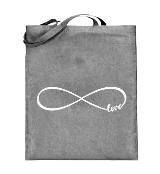 Personalisierbare Tasche Love Infinity