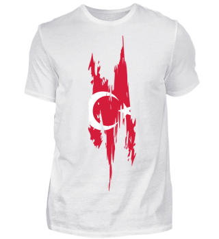 Turkish flag - Tshirt